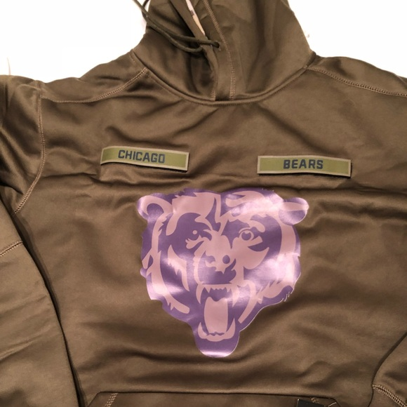 brand new 99c24 f0801 Chicago Bears salute to service hoodie